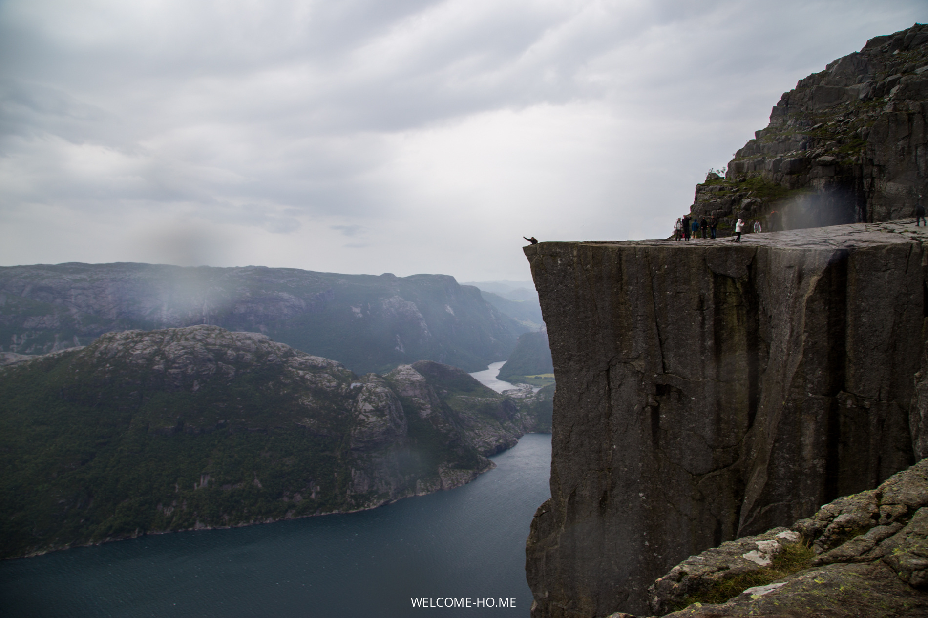 Hiking the Preikestolen, The Pulpit Rock