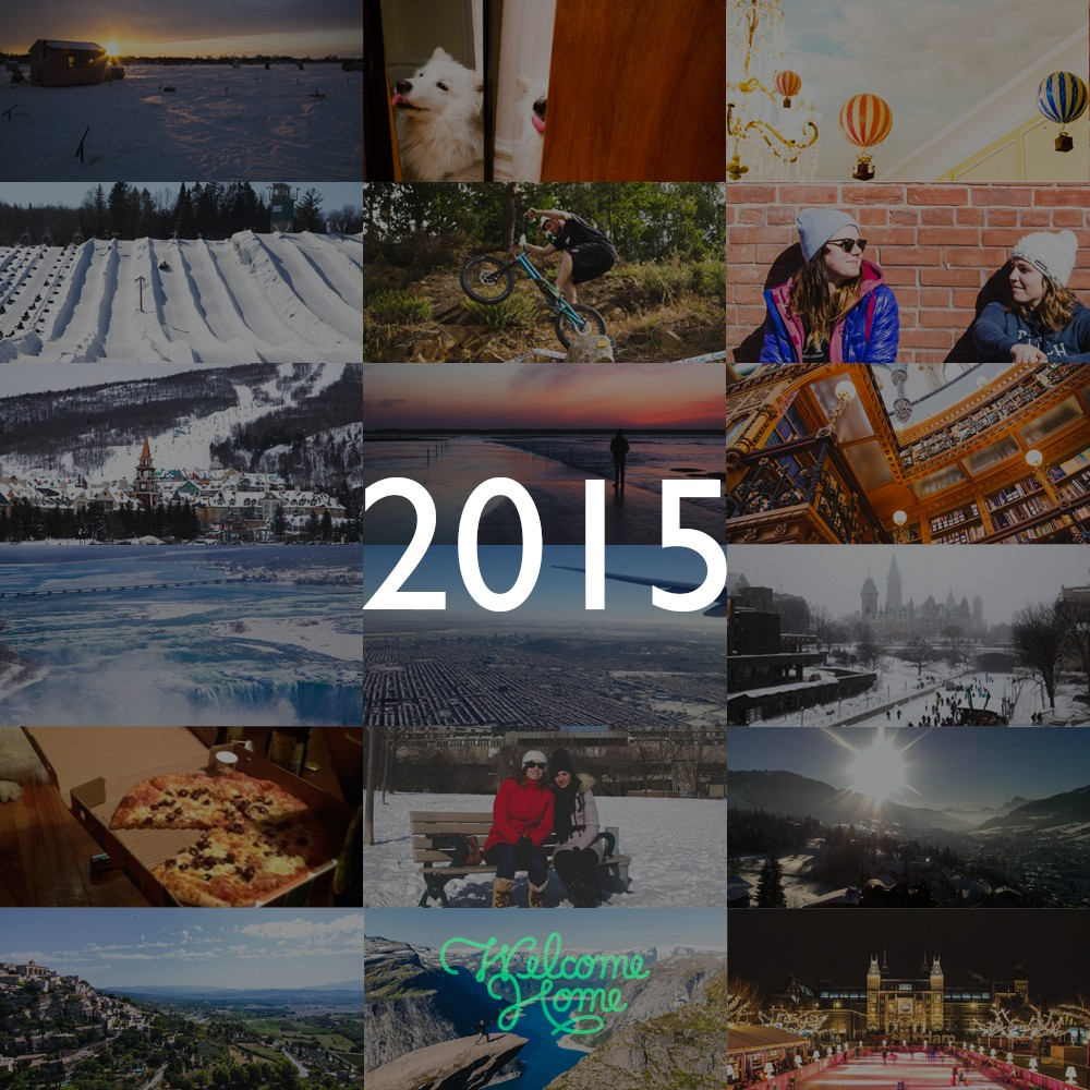 Where was I last year? 2015 in pictures.