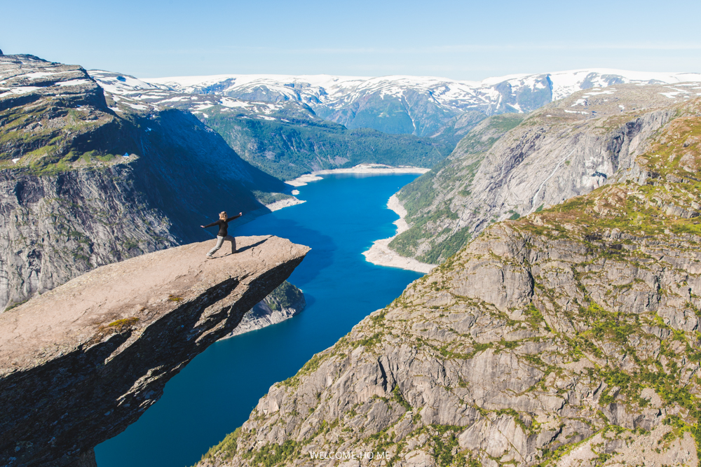 The Trolltunga Track