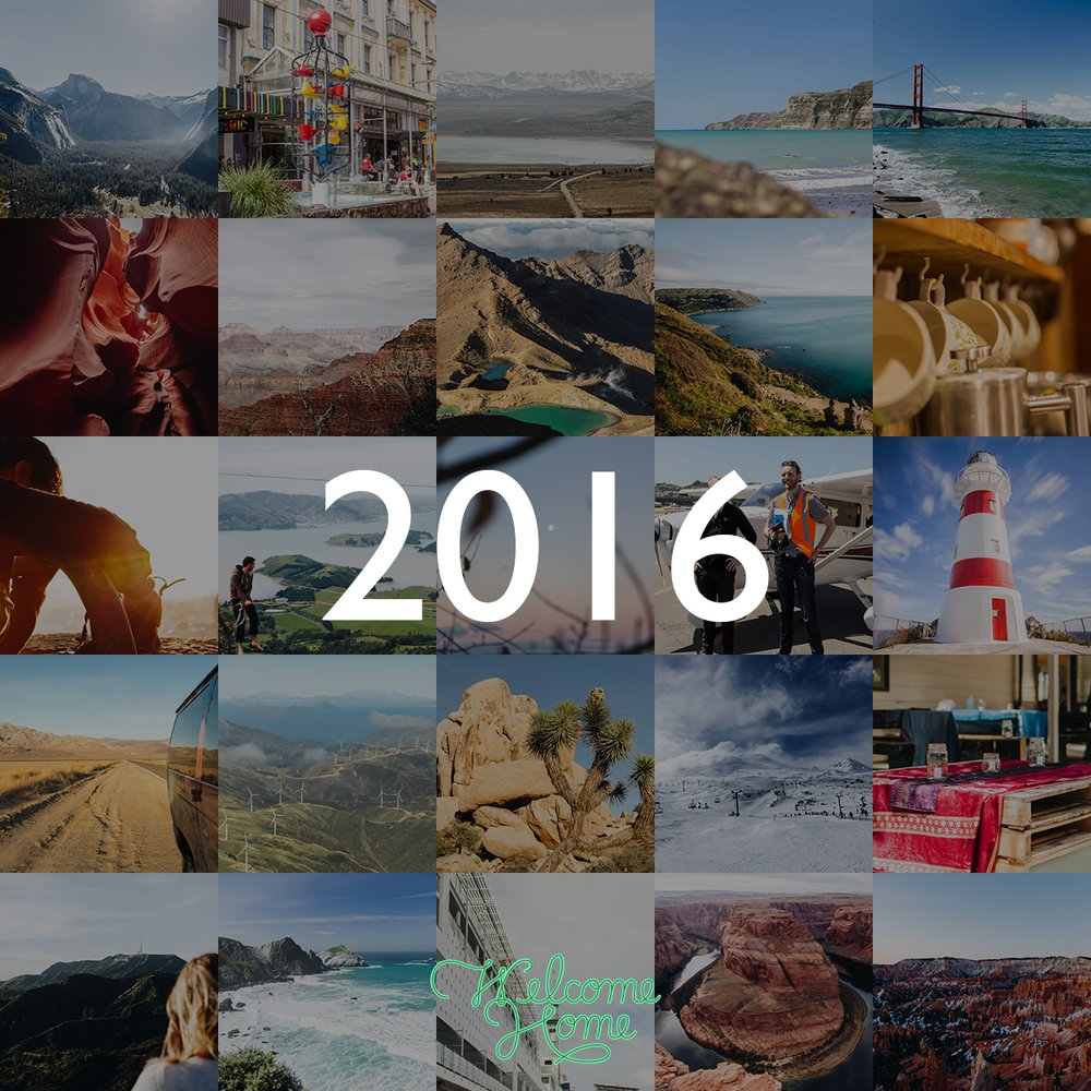 2016 in pictures. Where was I last year?