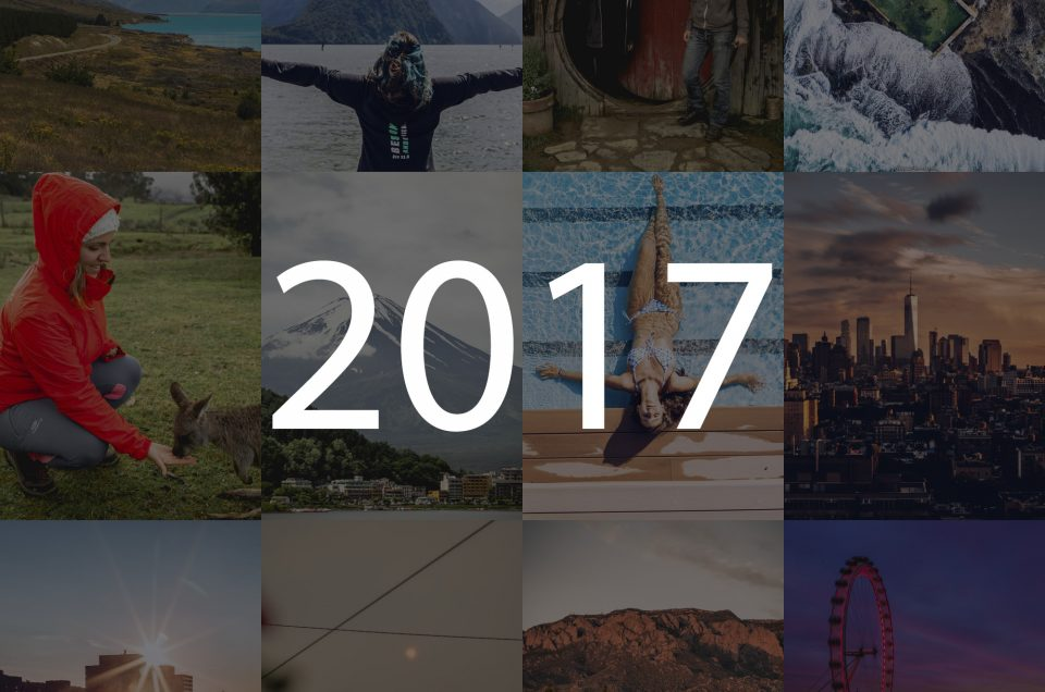2017 in pictures. Where was I last year?