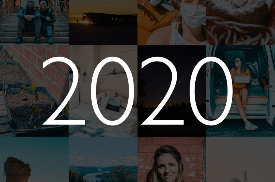 2020 in Pictures. Where was I last year?